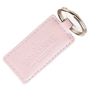 Pastel Blush Pink Key Ring - Snakehive
