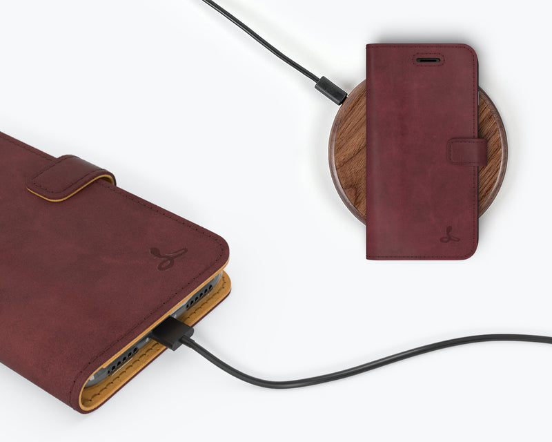 Vintage Leather Wallet - Apple iPhone 8