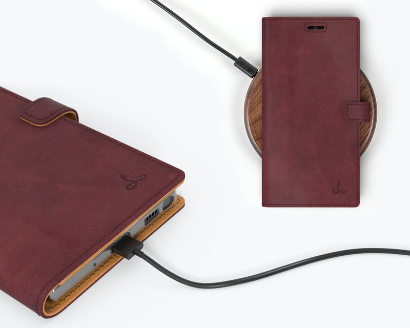 Vintage Leather Wallet - Samsung Galaxy Note 20