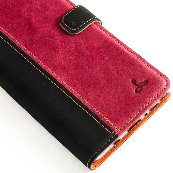 Vintage Two Tone Leather Wallet - Samsung Galaxy Note 8