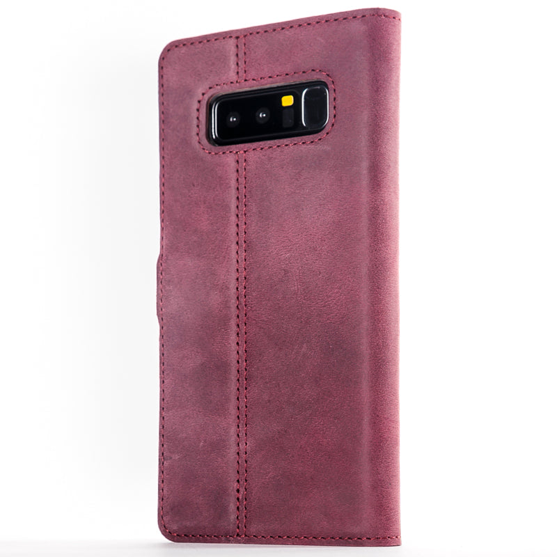 Vintage Leather Wallet - Samsung Galaxy Note 8