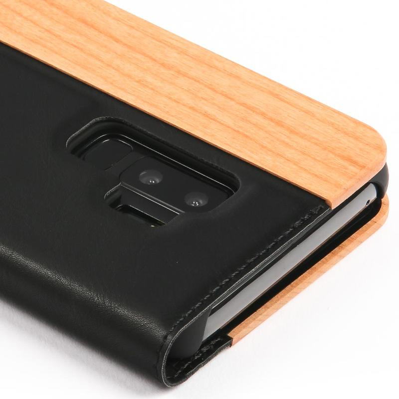 Wilderness Wood Wallet - Samsung Galaxy S9 Plus