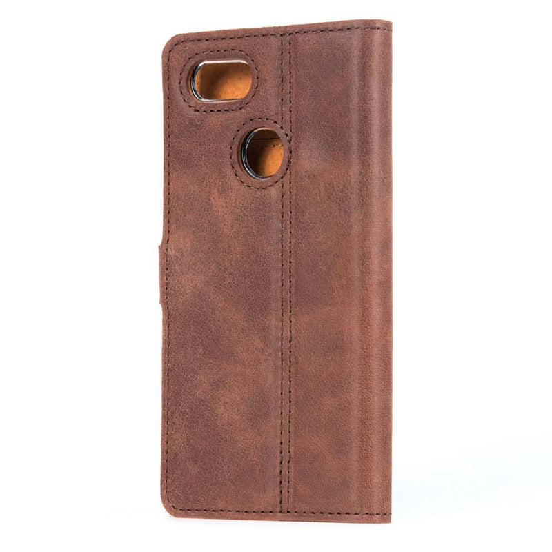 Vintage Leather Wallet - Google Pixel 3
