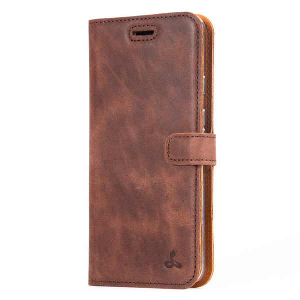 Vintage Leather Wallet - Google Pixel 3A XL