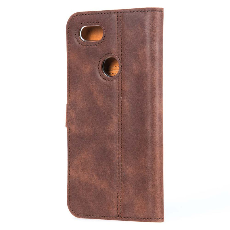 Vintage Leather Wallet - Google Pixel 3 XL