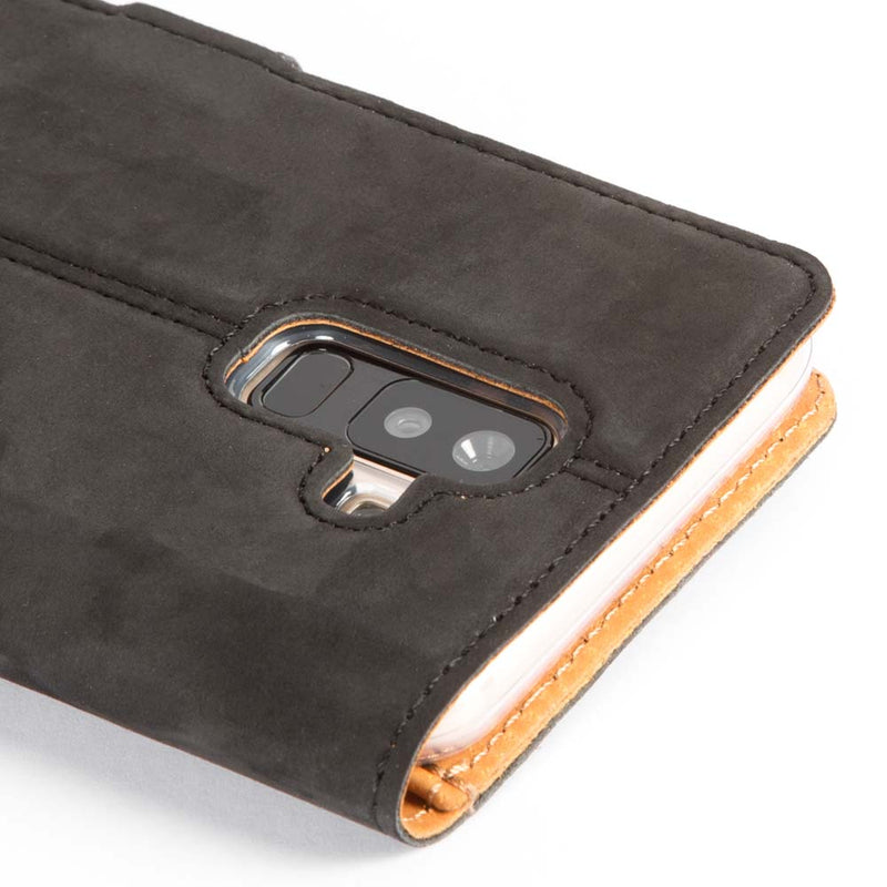 Vintage Leather Wallet - Samsung Galaxy A6 Plus (2018)