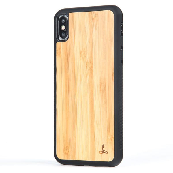 Wilderness Wood Back Bumper Case - Apple iPhone X/XS