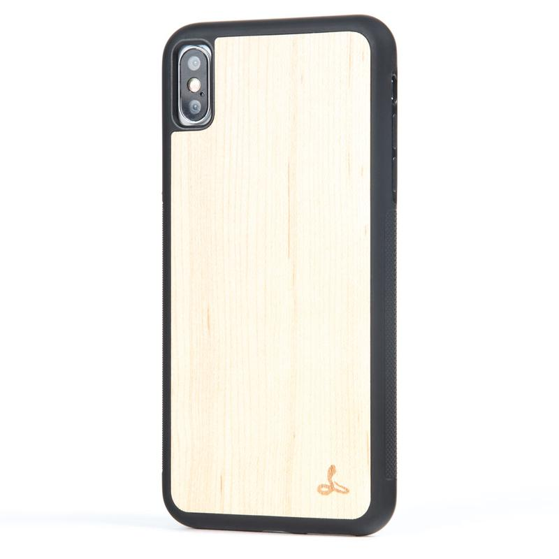 Wilderness Wood Back Case - Apple iPhone XS Max