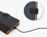 Vintage Two Tone Leather Wallet - Apple iPhone 7
