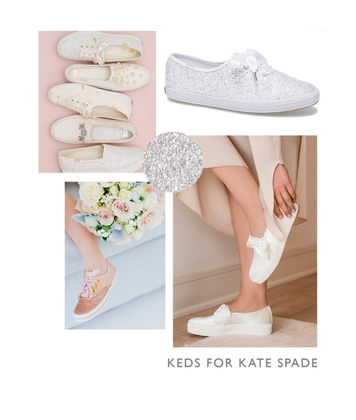keds for kate spade wedding shoes