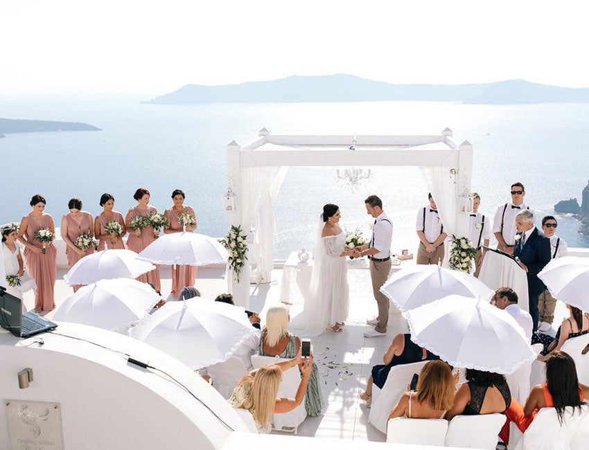 Real Bride Wedding in Greece