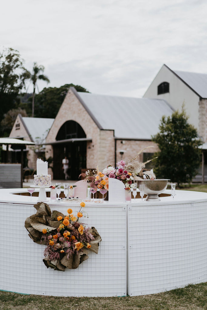 Wedding catering for Byron bay wedding 2021