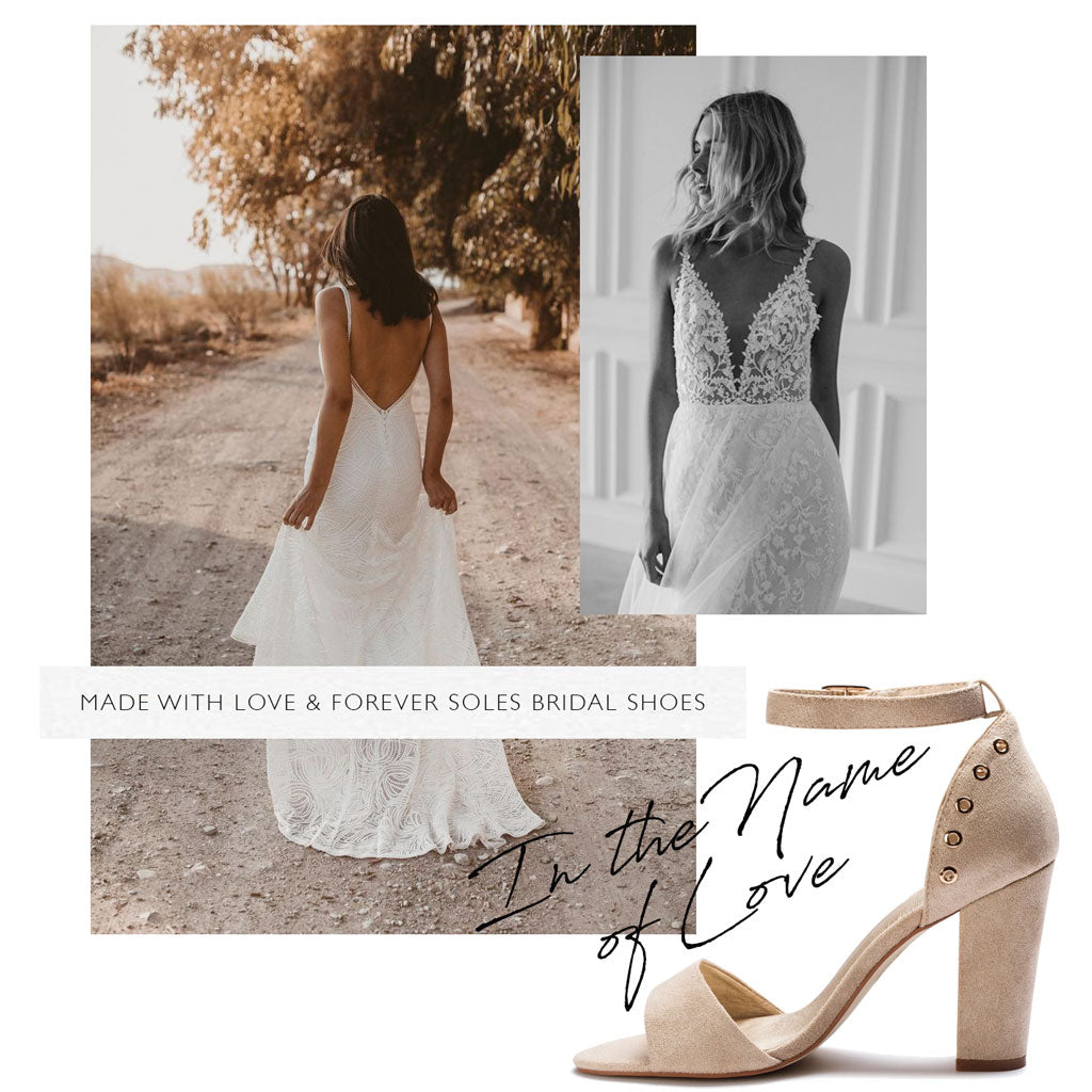 Made with Love & Forever Soles Bridal Shoes