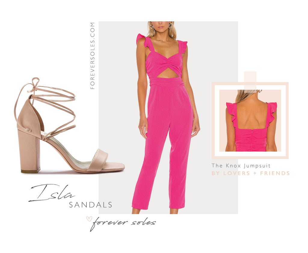 Forever Isla Sandals + Wedding Guest Outfit