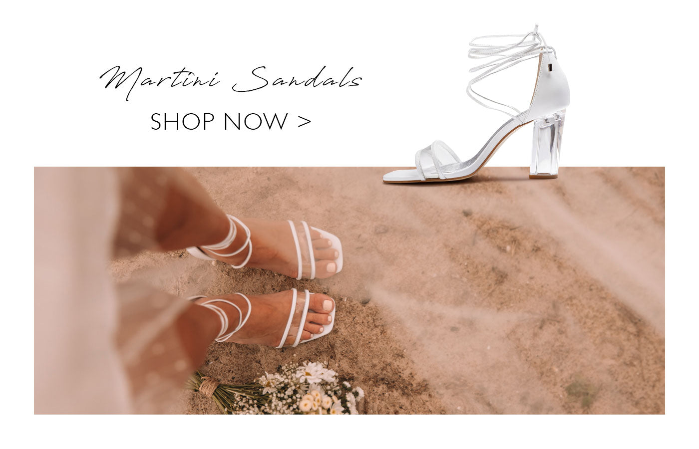 Forever Soles - Escape Collection - Martini Sandals