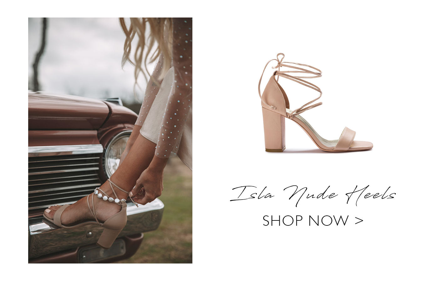 Forever Soles - Escape Collection - Isla Nude Heels
