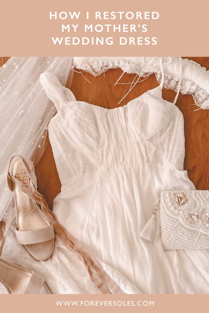 How I restored my mother's wedding dress