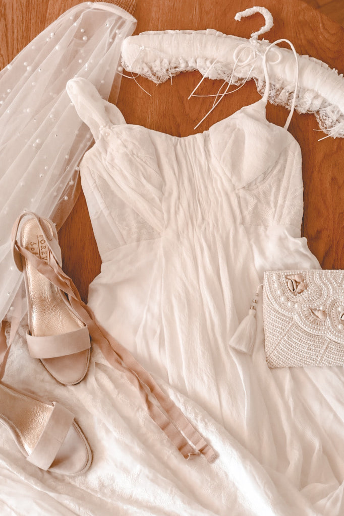 Restoring mother's wedding gown