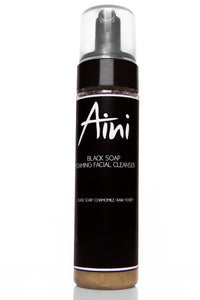 Black Soap Foaming Facial Cleanser