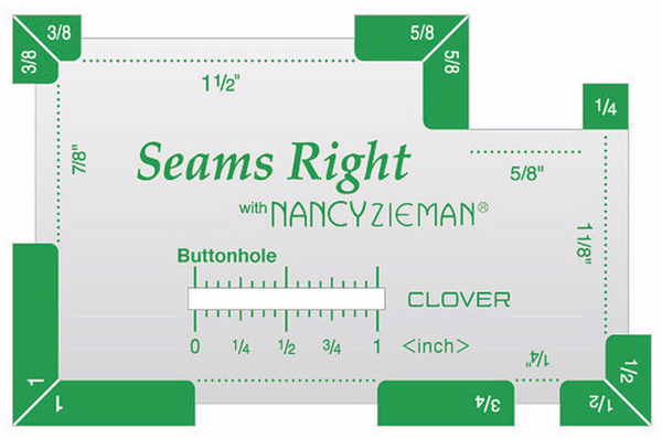 Clover Seams Right Tool with Nancy Zieman