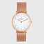 Alouette | Rose Gold | Mesh | 36 mm