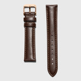 Brown leather women's strap convertible - Kraek