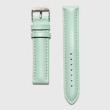 Green leather women's strap convertible - Kraek