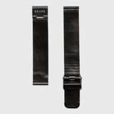 women's mesh strap convertible - black color - 18 mm- Kraek