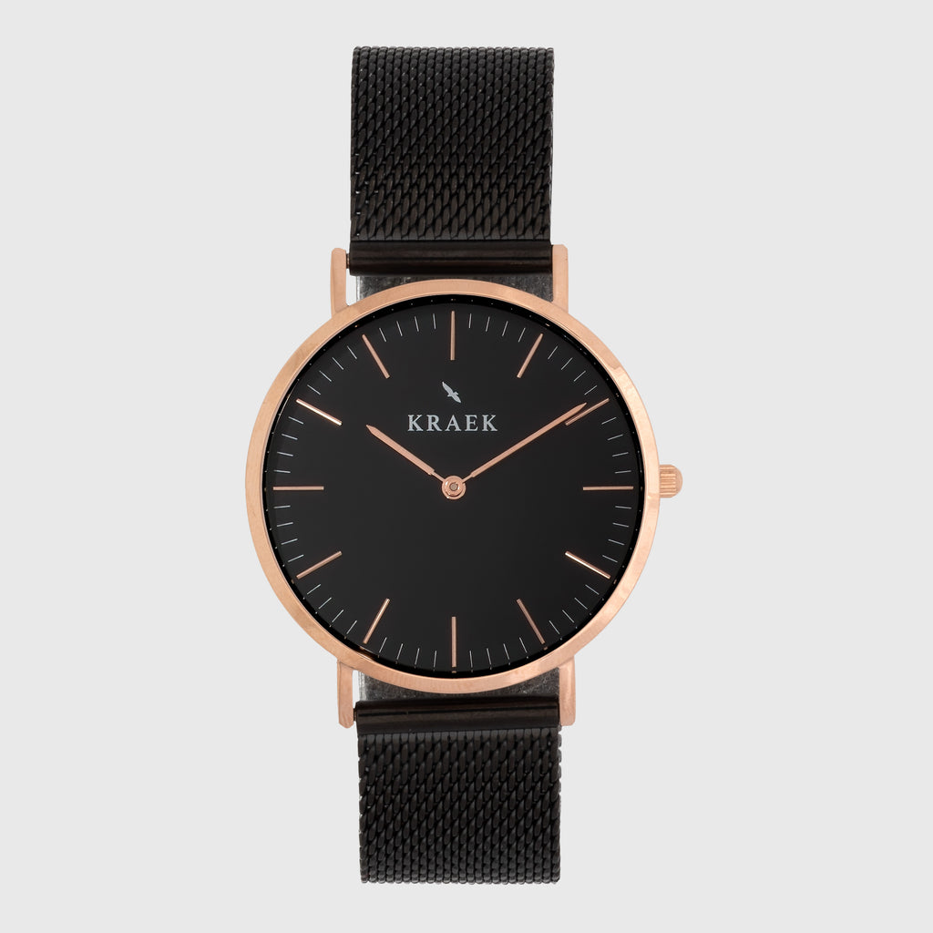 Evelyn | Rose Gold | Mesh