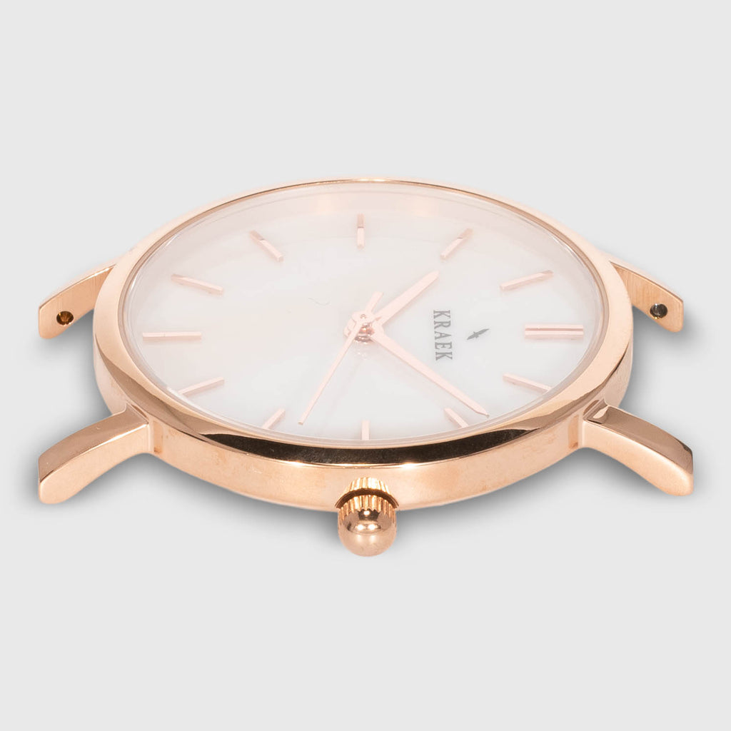 Rose | Rose Gold | Steel | 32 mm