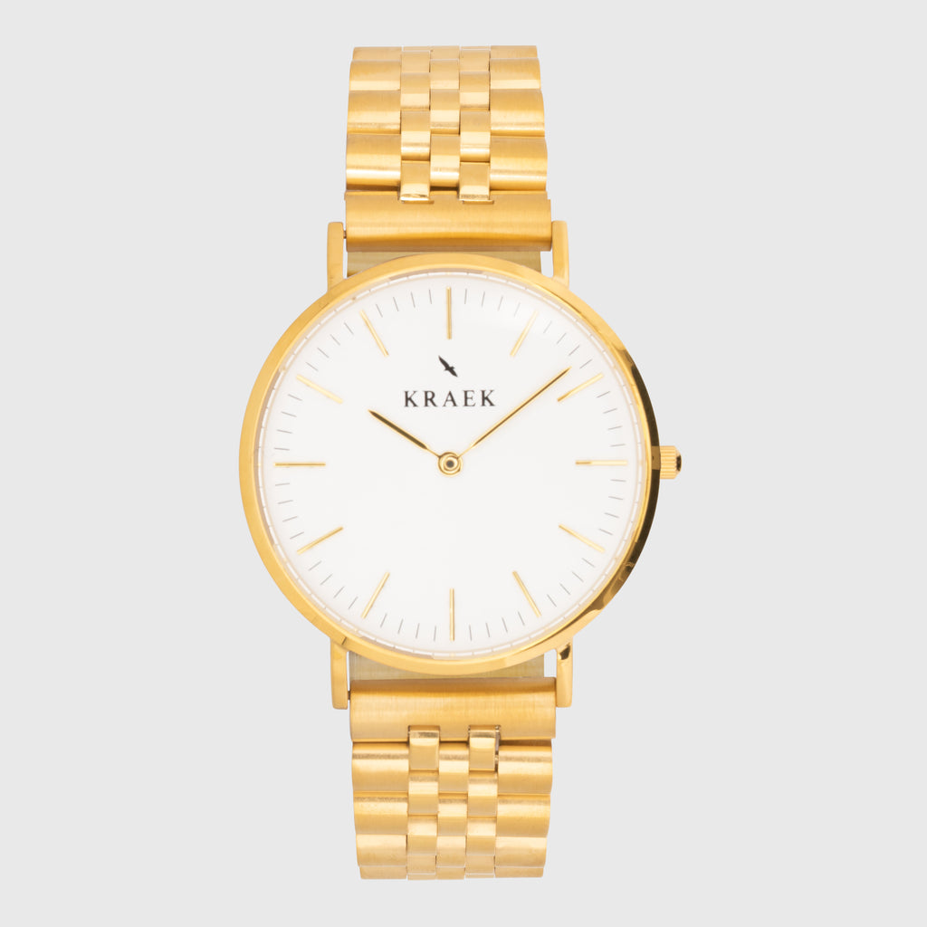 Viola | Gold | Stainless Steel | 36 mm