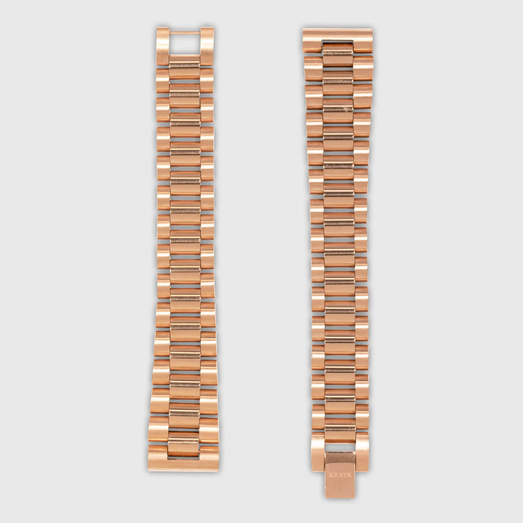 Flory | Rose Gold | Steel | 28 mm