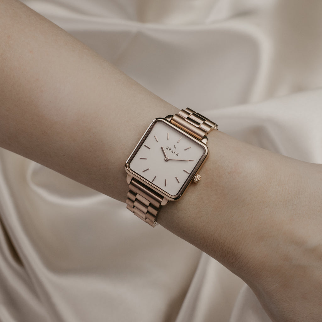 Viënne | Rose Gold | Steel | 28 mm