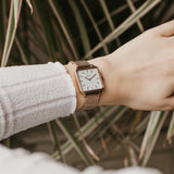 wrist photo - Rose Gold mesh strap - 16 mm - La Vie
