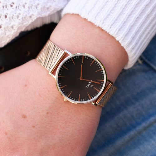 Sarika | Rose Gold | Mesh