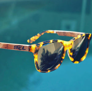 Magz // Tortoise Acetate & Wood // Polarized