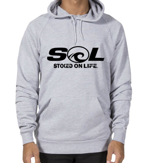 Daily Hoodie - SOL Stoked On Life  - 1