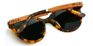 Hayden // Tortoise Acetate & Wood // Polarized - SOL Stoked On Life  - 3