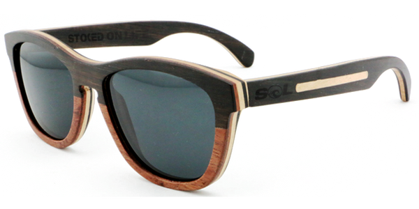 Leven // Ebony-Rosewood Two Tone // Polarized - SOL Stoked On Life  - 1