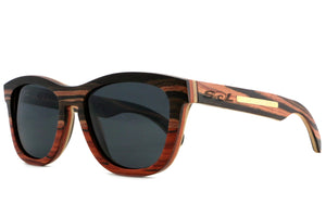 Leven // Ebony-Rosewood Two Tone // Polarized - SOL Stoked On Life  - 3