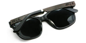 Magz // Black Acetate & Wood // Polarized - SOL Stoked On Life  - 4