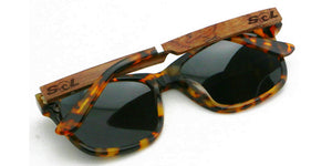 Magz // Tortoise Acetate & Wood // Polarized - SOL Stoked On Life  - 3