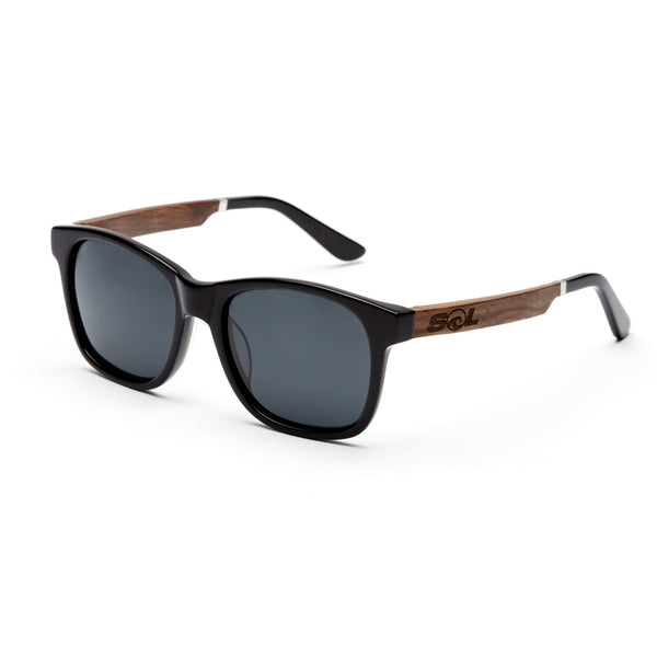 Magz // Black Acetate & Wood // Polarized - SOL Stoked On Life  - 2