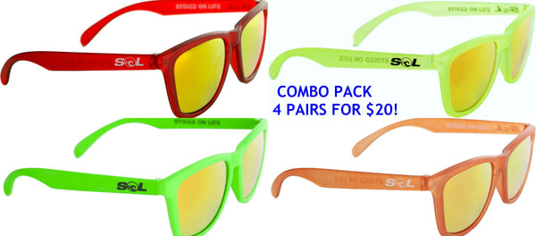 Party Pack!  (4) Shades Only $20