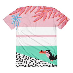 Stoked On Life Toucan Women's Shirt