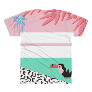 Stoked On Life Toucan Men's Shirt