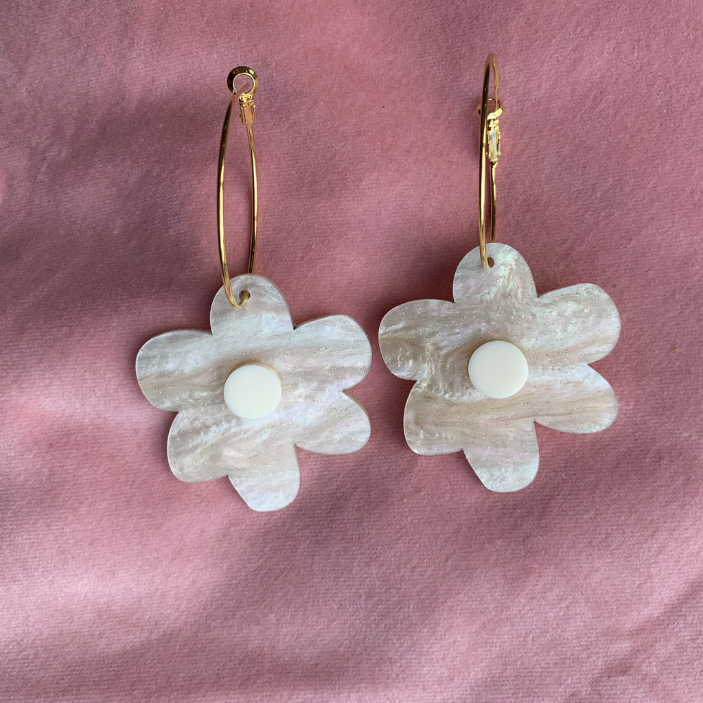 flower power earrings // select colour