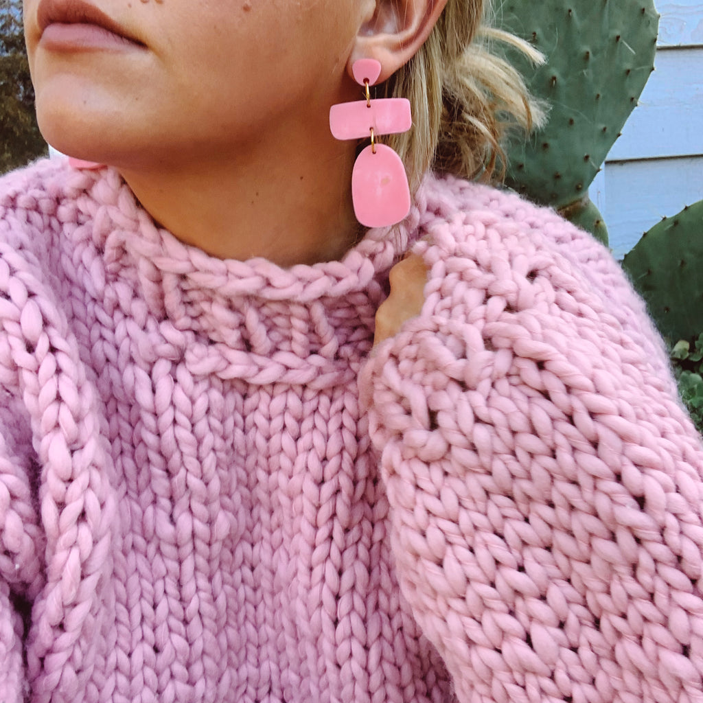 Polly Mis-matched Earrings // Select colour