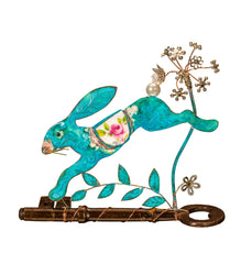 Running Hare on Key by Beastie Assemblage