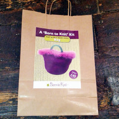 "Born to Knit ""Knit Your Own Bag"" Knitting Kit"